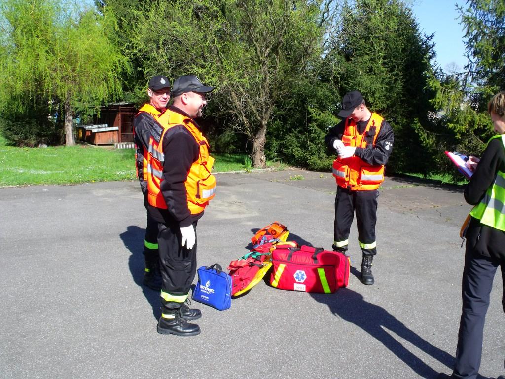 Sukces ratowników OSP Besko wMistrzostwa wRatownictwie Medycznym